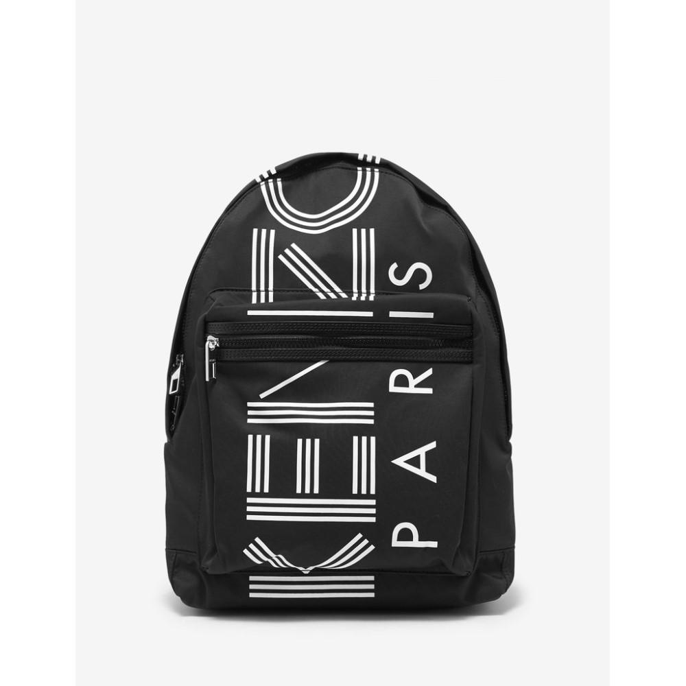 ケンゾー Kenzo メンズ バッグ バックパック・リュック【Logo Large Backpack】Black