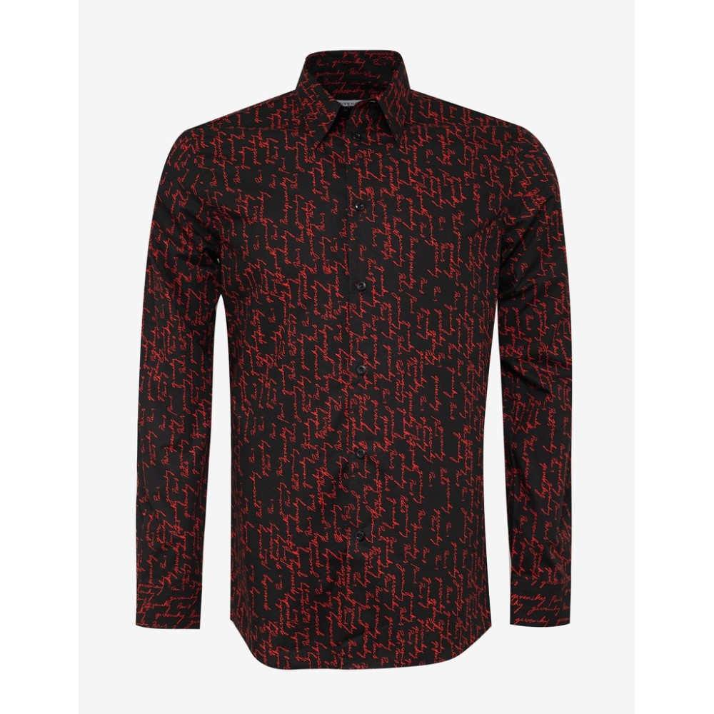 ジバンシー Givenchy メンズ トップス シャツ【Signature Logo Shirt】Black