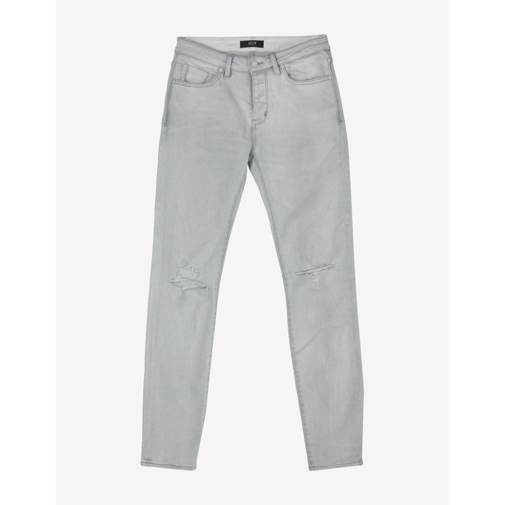 ニュー Neuw メンズ ボトムス・パンツ ジーンズ・デニム【Iggy Skinny 'White Void' Distressed Jeans】Blue