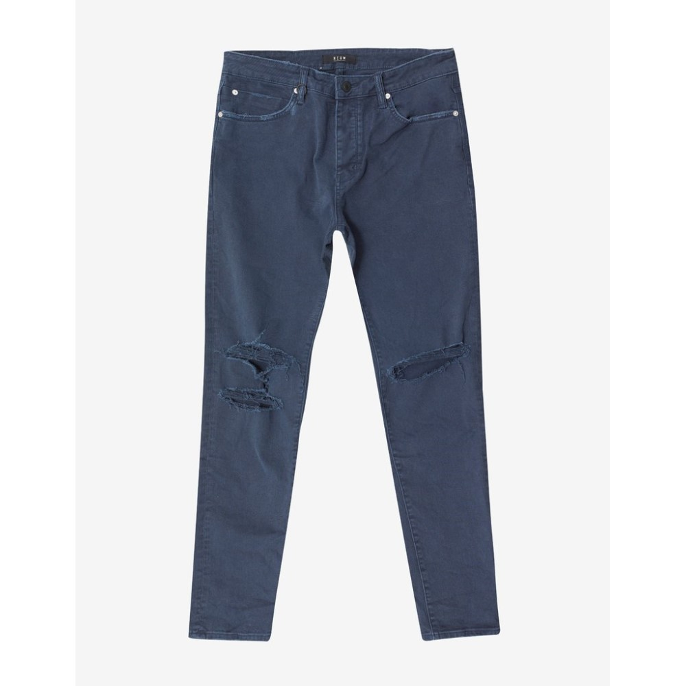 ニュー Neuw メンズ ボトムス・パンツ ジーンズ・デニム【Ray Tapered Busted Navy Jeans】Blue