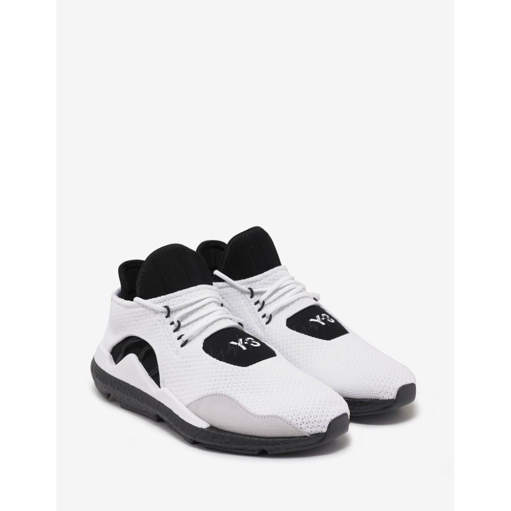 ワイスリー Y-3 メンズ シューズ・靴 スニーカー【Saikou Trainers】White