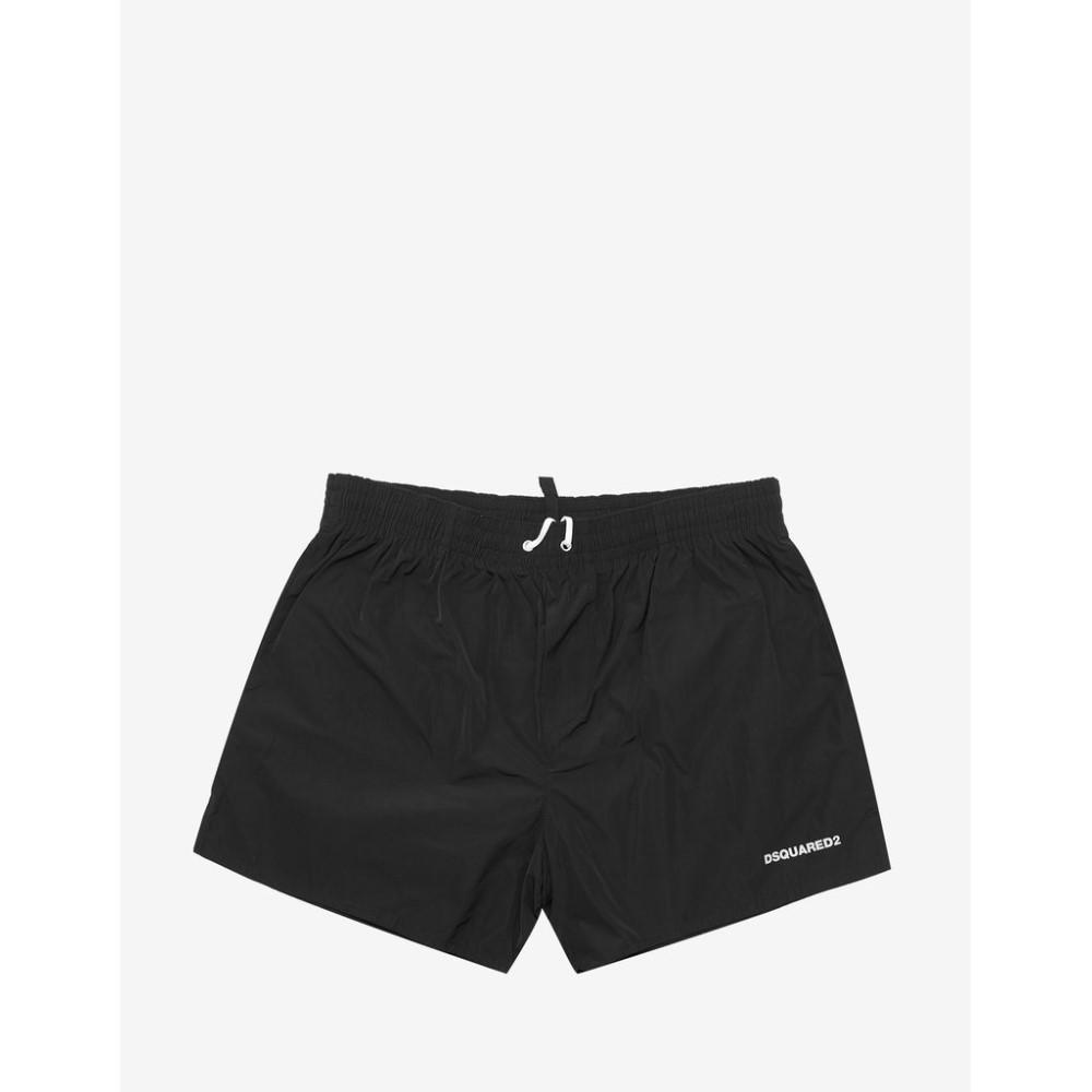 ディースクエアード Dsquared2 メンズ 水着・ビーチウェア 海パン【Icon Logo Swim Shorts】Black