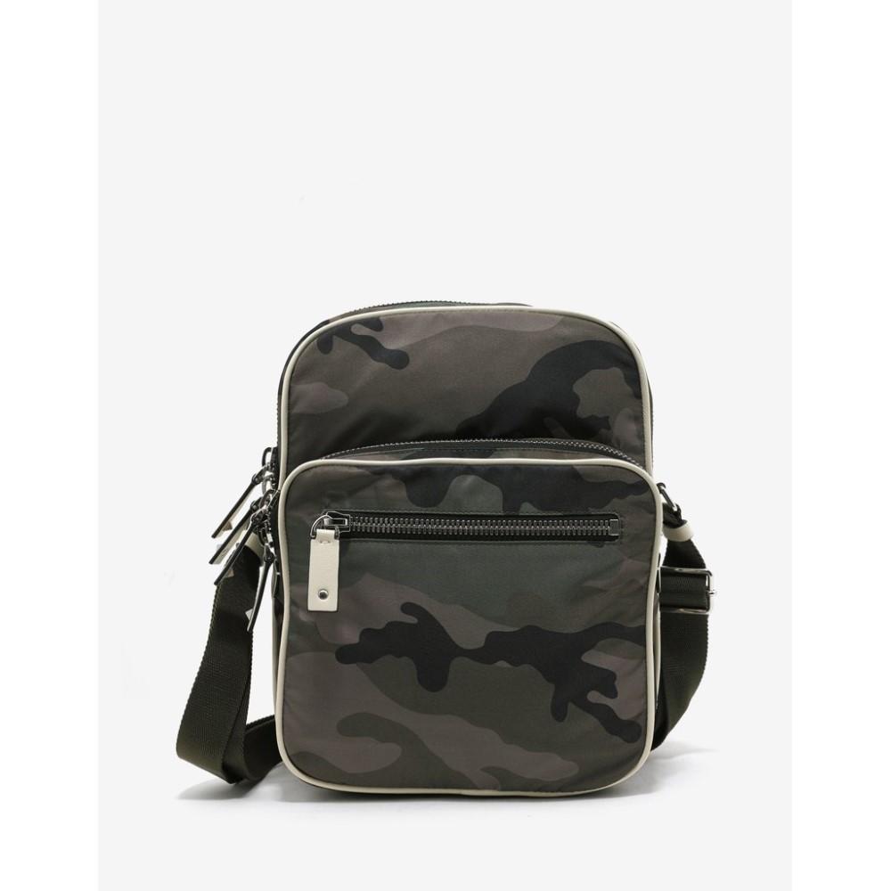 ヴァレンティノ Valentino Garavani メンズ バッグ メッセンジャーバッグ【Camouflage Messenger Bag】Green