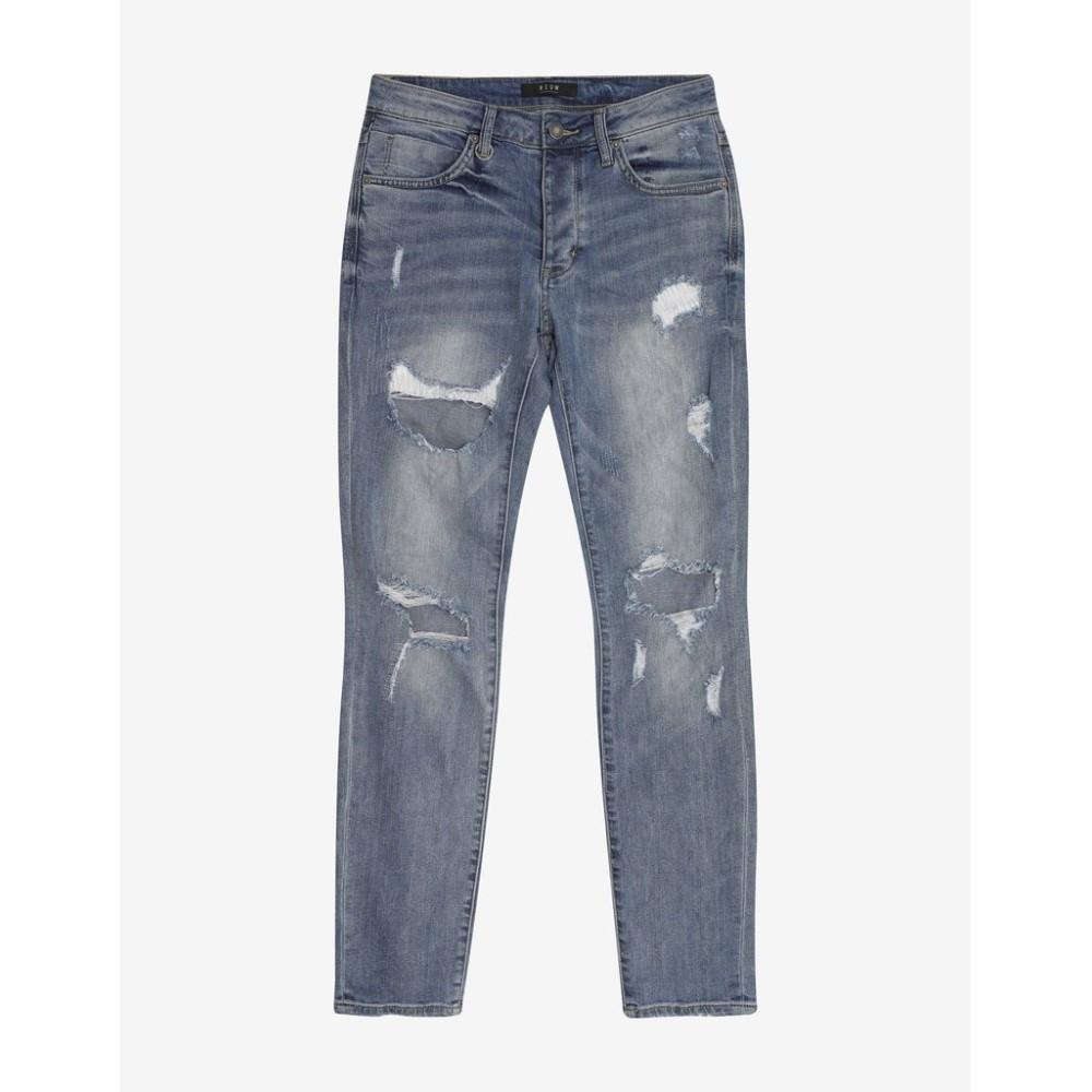 ニュー Neuw メンズ ボトムス・パンツ ジーンズ・デニム【Iggy Skinny Ripped Jeans】Blue