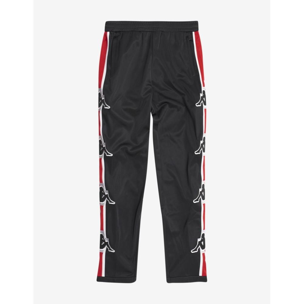 マルセロバーロン Marcelo Burlon メンズ ボトムス・パンツ スウェット・ジャージ【Kappa Stripe Track Pants】Black