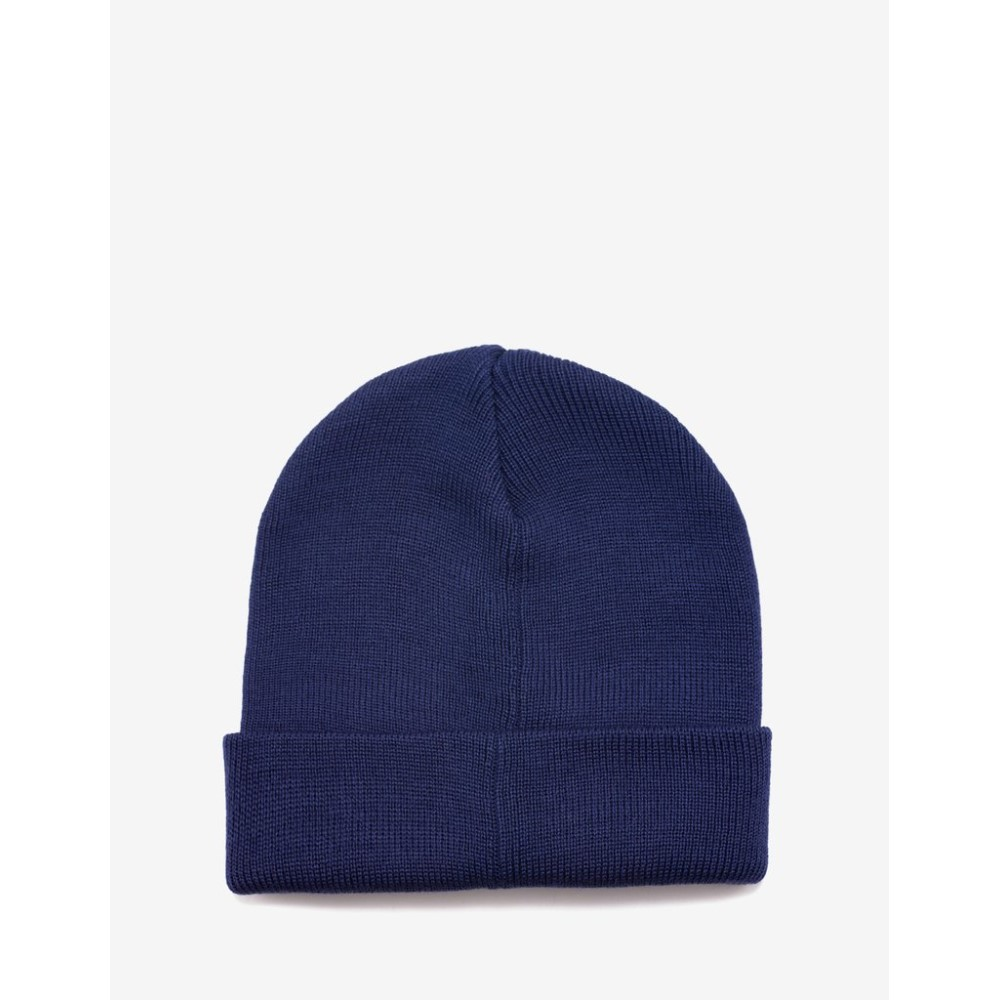 ジバンシー Givenchy メンズ 帽子 ニット Navy Logo Badge Beanie Hat Blue4Lcq35AjSR