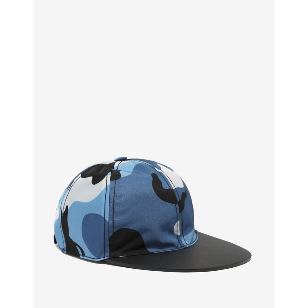 ヴァレンティノ Valentino Garavani メンズ 帽子 キャップ【Light Camouflage Cap】Blue