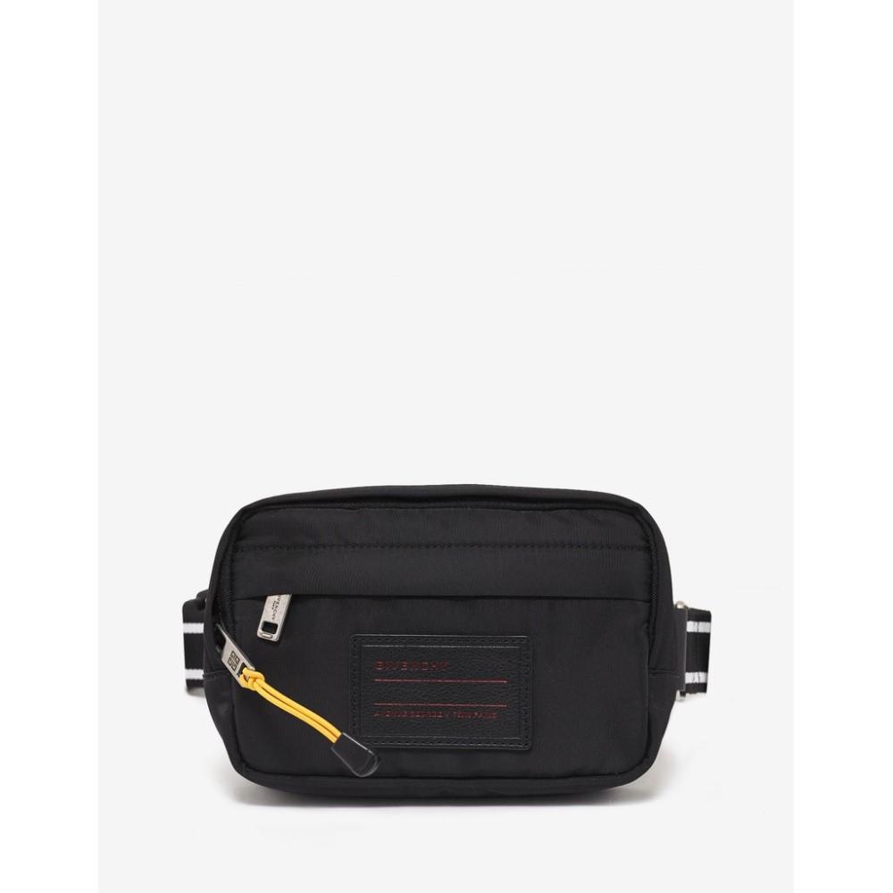 ジバンシー Givenchy メンズ バッグ ボディバッグ・ウエストポーチ【Logo Badge Waist Bag】Black