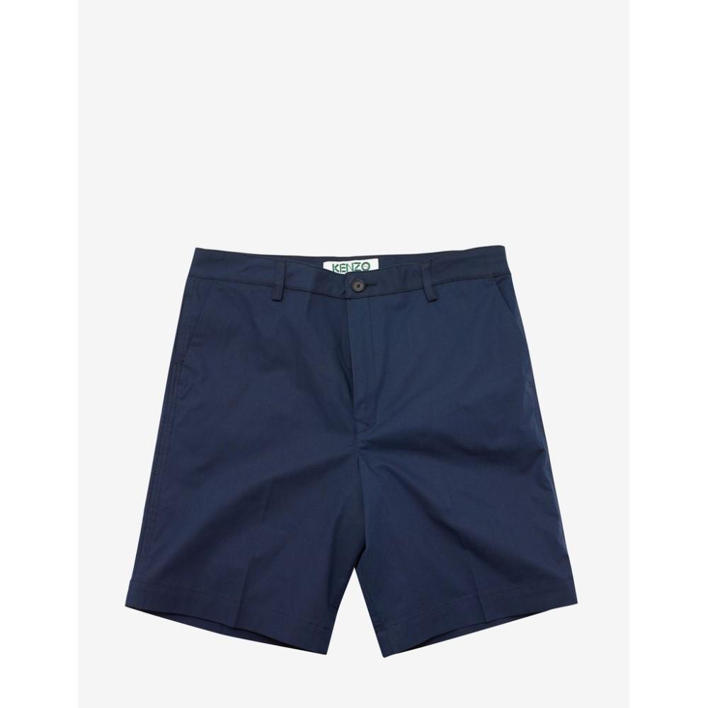 ケンゾー Kenzo メンズ ボトムス・パンツ ショートパンツ【Navy Tailored Shorts】Blue