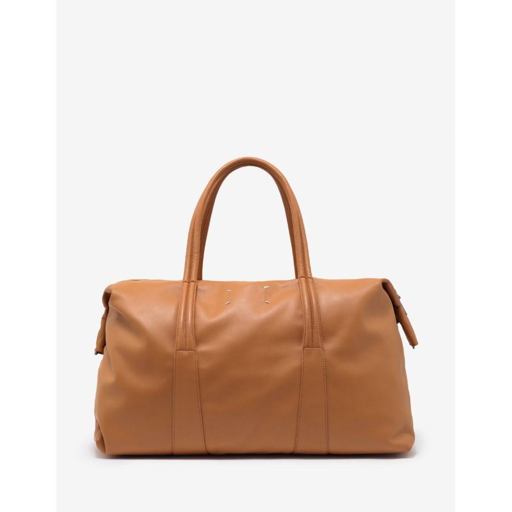 メゾン マルジェラ Maison Margiela メンズ バッグ ボストンバッグ・ダッフルバッグ【Tan Leather Weekend Bag】Brown