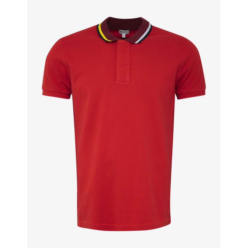 ケンゾー Kenzo メンズ トップス ポロシャツ【Bi-Colour Polo T-Shirt】Red