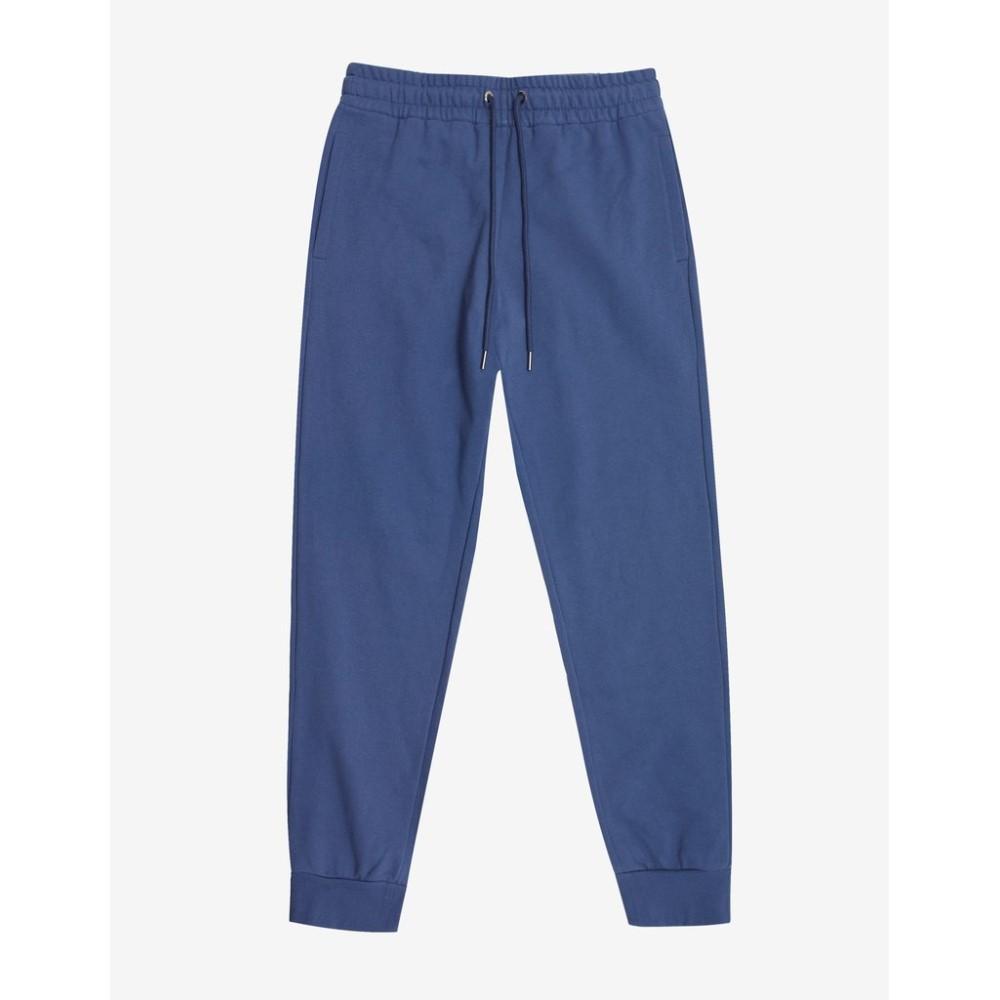 ヴェルサーチ Versace Gym メンズ ボトムス・パンツ スウェット・ジャージ【Medusa Embroidery Sweat Pants】Blue