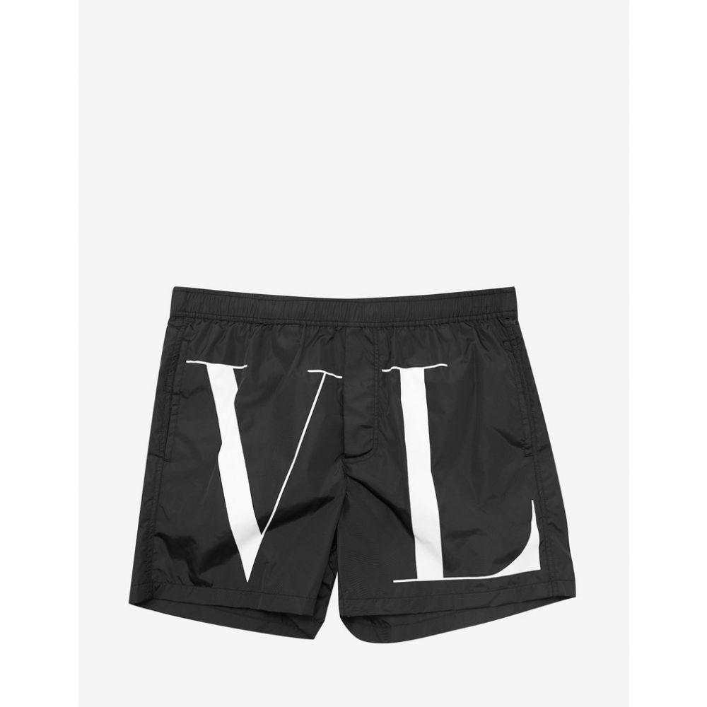 ヴァレンティノ Valentino メンズ 水着・ビーチウェア 海パン【Black VLTN Swim Shorts】Black