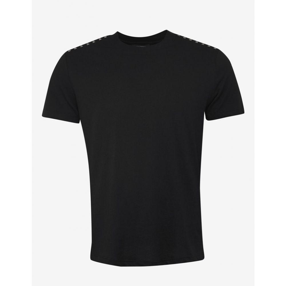 ヴァレンティノ Valentino メンズ トップス Tシャツ【Black Rockstud Untitled T-Shirt】Black