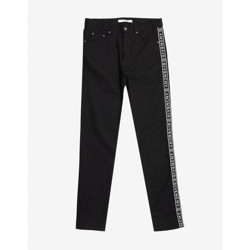 ジバンシー Givenchy メンズ ボトムス・パンツ ジーンズ・デニム【Black 4G Logo Band Slim Jeans】Black