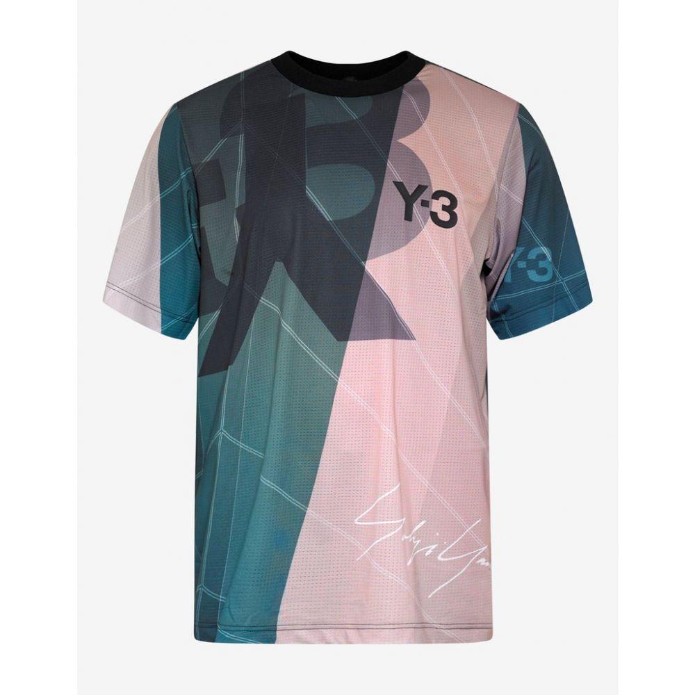 ワイスリー Y-3 メンズ アメリカンフットボール トップス【Yohji Signature Football Shirt】Green/Beige