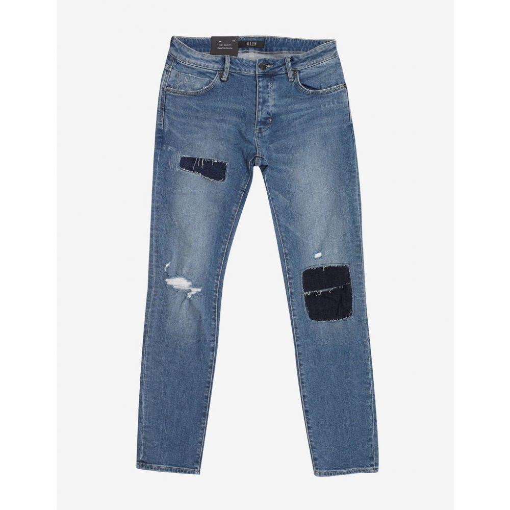 ニュー Neuw メンズ ボトムス・パンツ ジーンズ・デニム【Iggy Skinny Train Distressed Blue Jeans】Blue