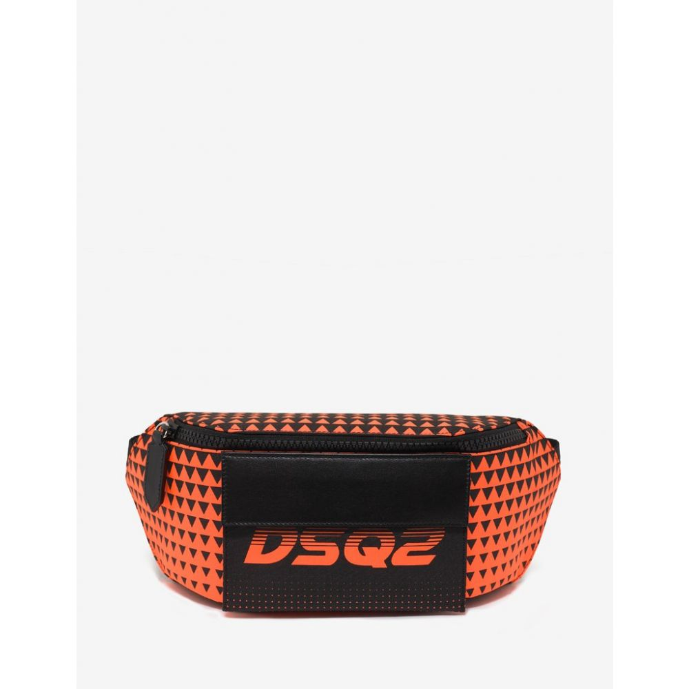 ディースクエアード Dsquared2 メンズ バッグ ボディバッグ・ウエストポーチ【Orange Bionic Sport DSQ2 Race Waist Bag】Orange