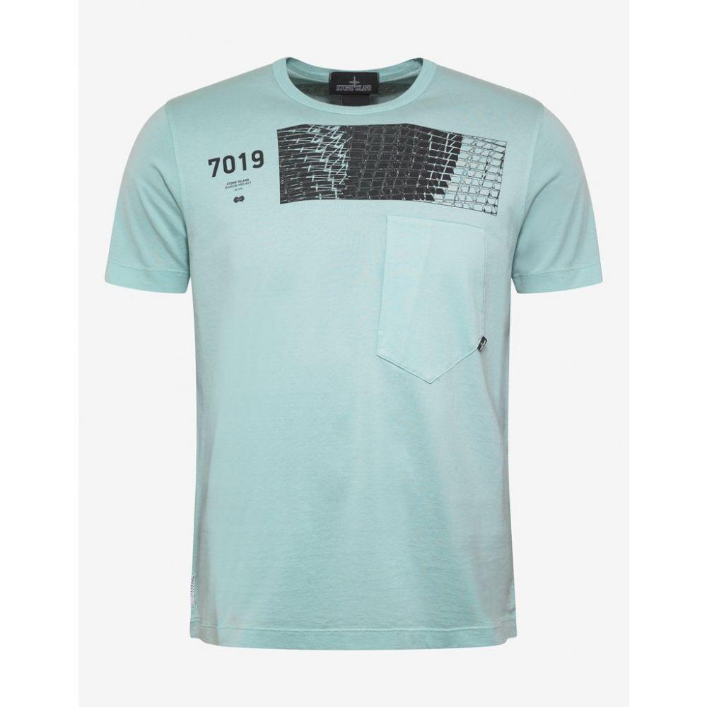 ストーンアイランド Stone Island Shadow Project メンズ トップス Tシャツ【Teal Graphic T-Shirt】Blue