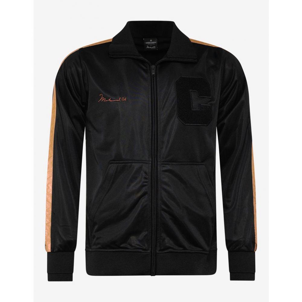 マルセロバーロン Marcelo Burlon メンズ アウター ジャージ【Black Muhammad Ali Track Jacket】Black