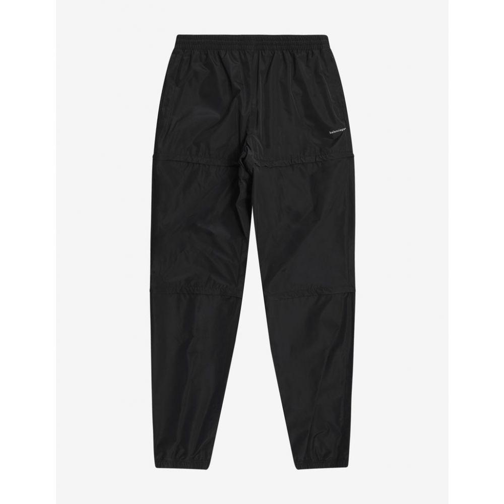 バレンシアガ Balenciaga メンズ ボトムス・パンツ【Black Copyright Logo Zipped Pants】Black