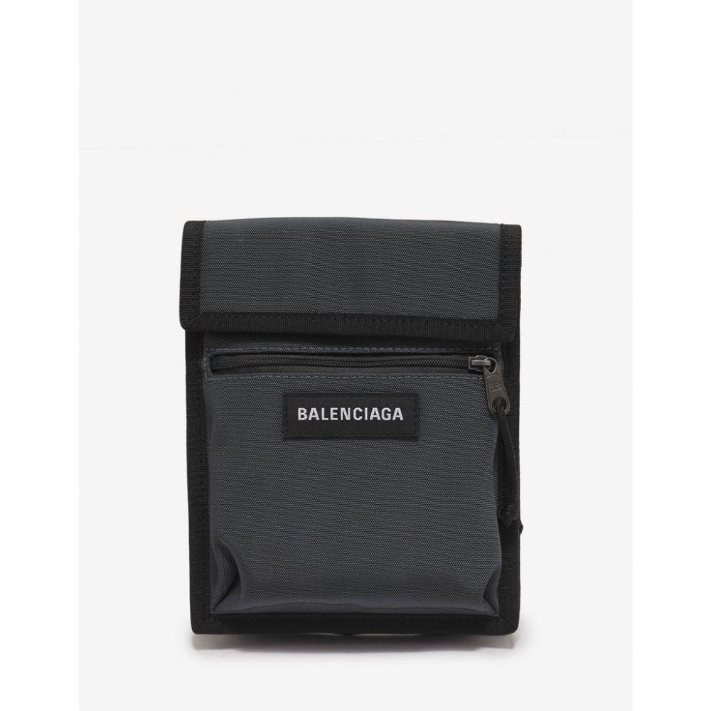 バレンシアガ Balenciaga メンズ ポーチ【Grey Explorer Pouch Bag】Grey