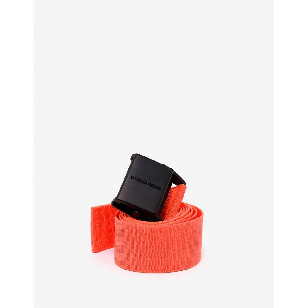 ディースクエアード Dsquared2 メンズ ベルト【Orange Canvas Belt】Orange