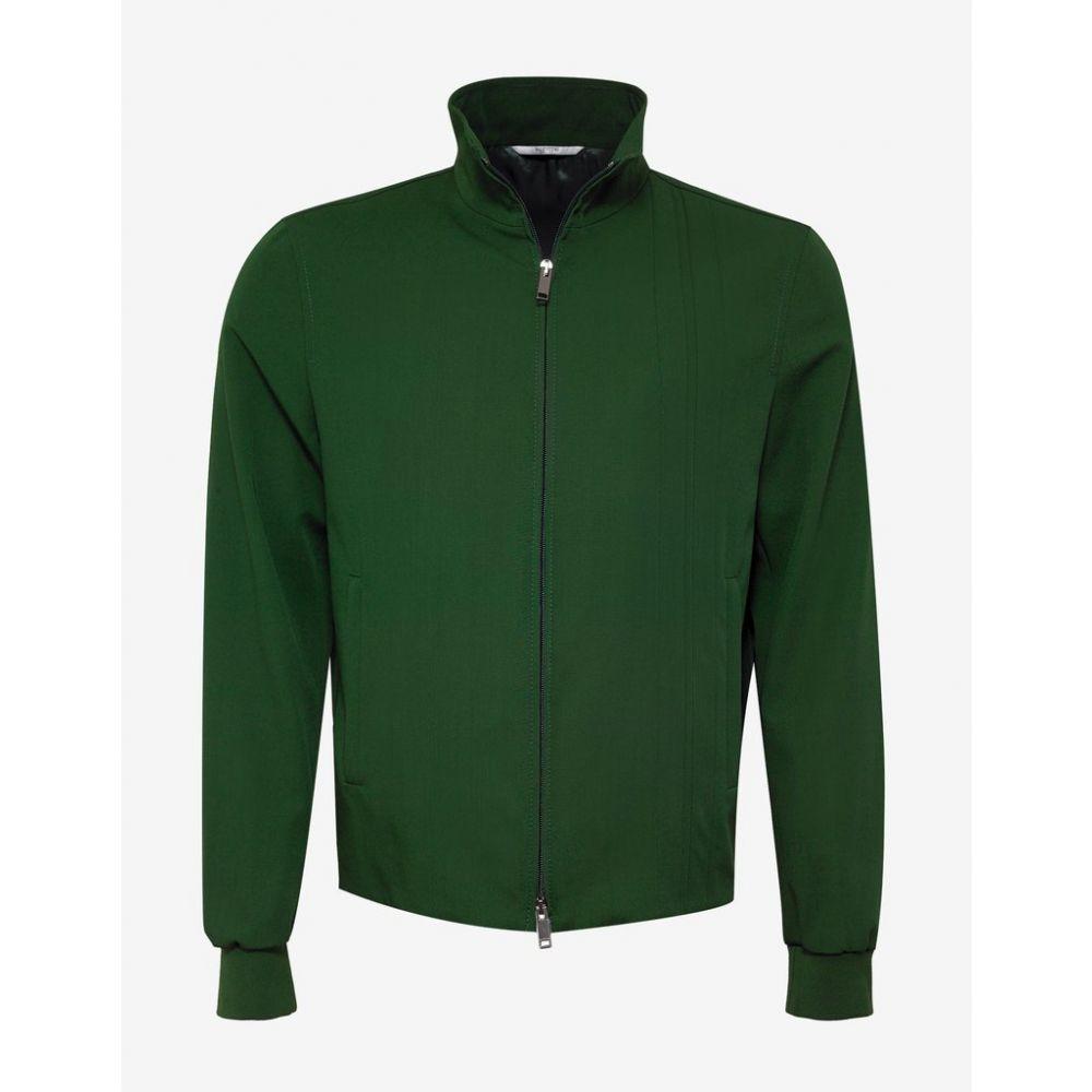 ヴァレンティノ Valentino メンズ アウター ジャージ【Green Track Jacket with Tonal Stripes】Green