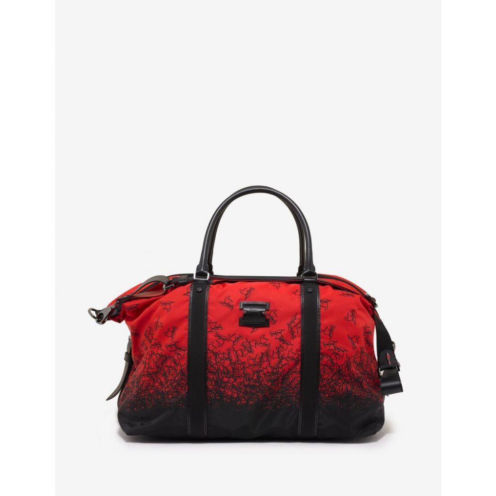 クリスチャン ルブタン Christian Louboutin メンズ バッグ ボストンバッグ・ダッフルバッグ【Parislisboa Red Degraloubi Print Duffle Bag】Red