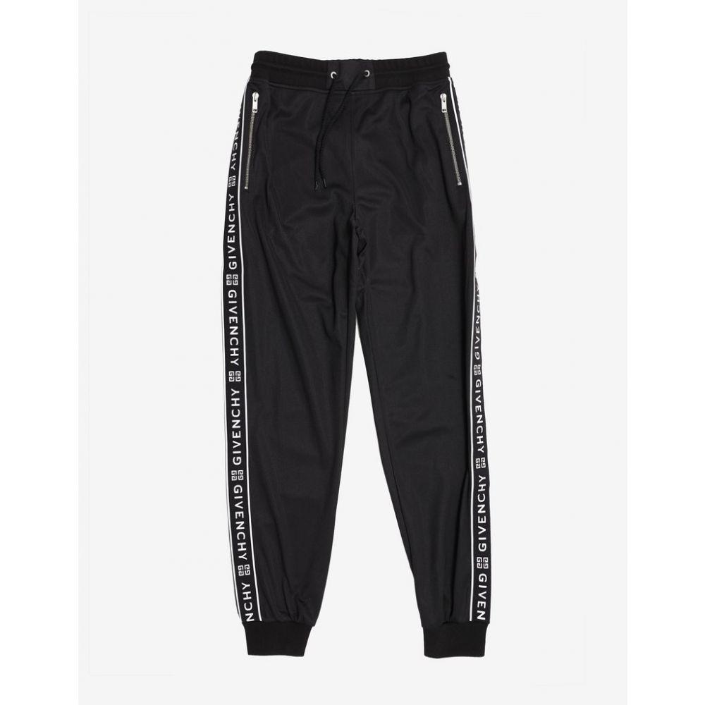 ジバンシー Givenchy メンズ ボトムス・パンツ スウェット・ジャージ【Black 4G Logo Band Sweat Pants】Black