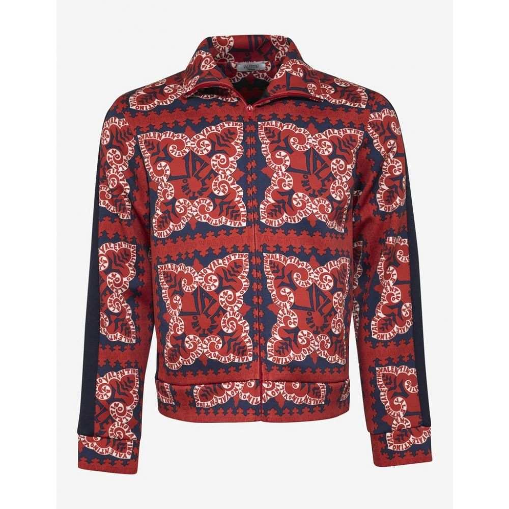 ヴァレンティノ Valentino メンズ アウター ジャケット【Red Mini Bandana Print Jacket】Red