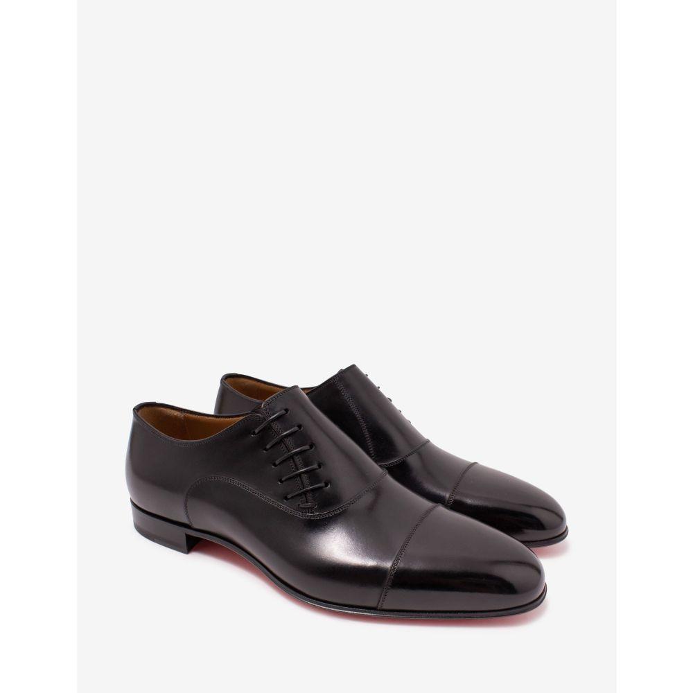 クリスチャン ルブタン Christian Louboutin メンズ 革靴・ビジネスシューズ シューズ・靴【Dr Jack Black Leather Oxford Shoes】Black