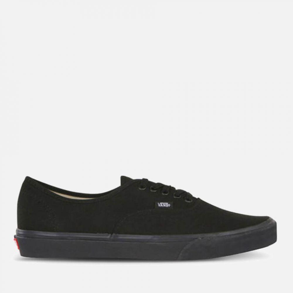ヴァンズ Vans メンズ スニーカー シューズ・靴【authentic trainers - black/black】