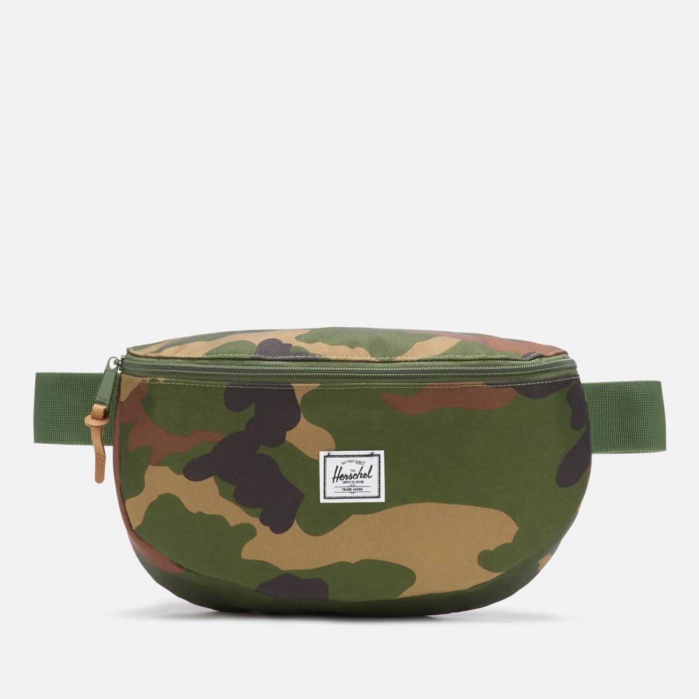 ハーシェル サプライ Herschel Supply Co. メンズ ボディバッグ・ウエストポーチ バッグ【sixteen cross body bag - woodland camo】Black