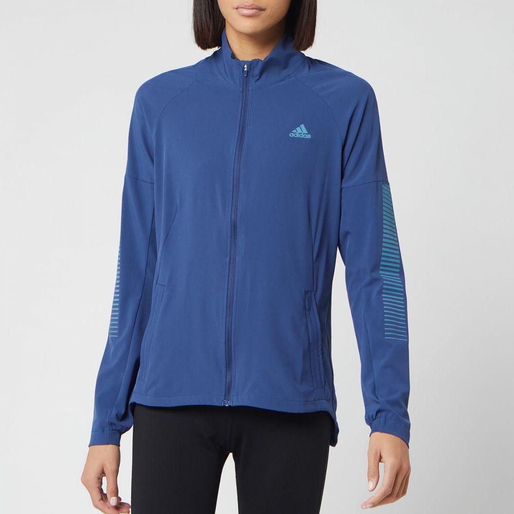 アディダス adidas レディース ジャケット アウター【Runner Jacket - Tech Indigo】Blue