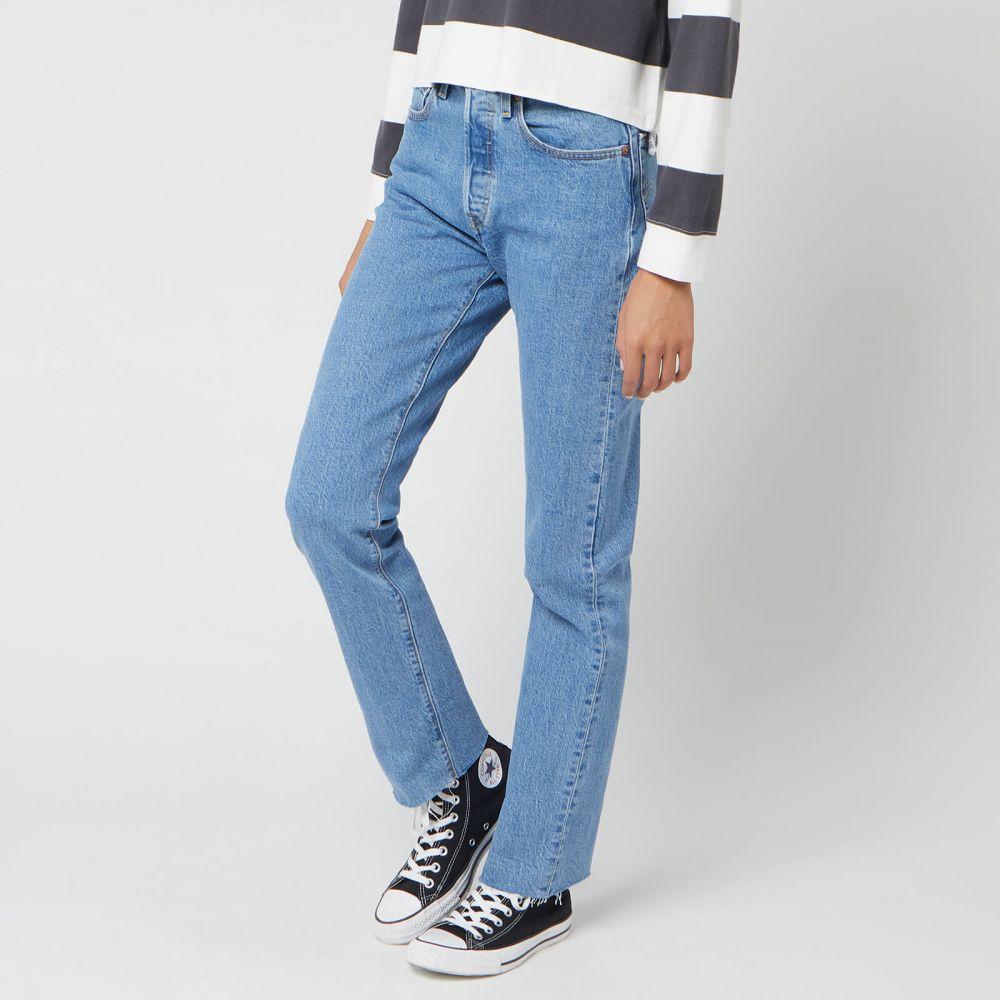 リーバイス Levi's レディース ジーンズ・デニム ボトムス・パンツ【501 Crop Jeans - Tango Beats】Blue