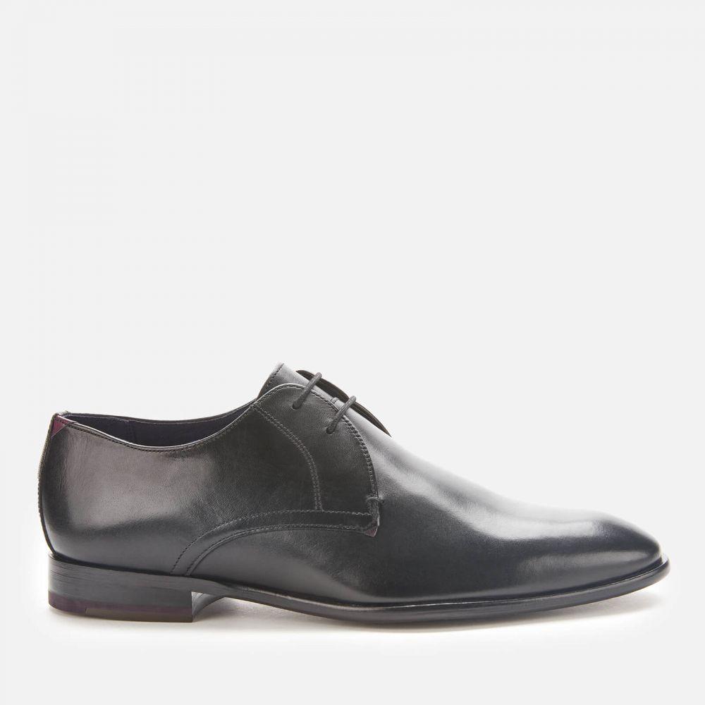 テッドベーカー Ted Baker メンズ 革靴・ビジネスシューズ ダービーシューズ シューズ・靴【Sumpsa Leather Derby Shoes - Black】Black