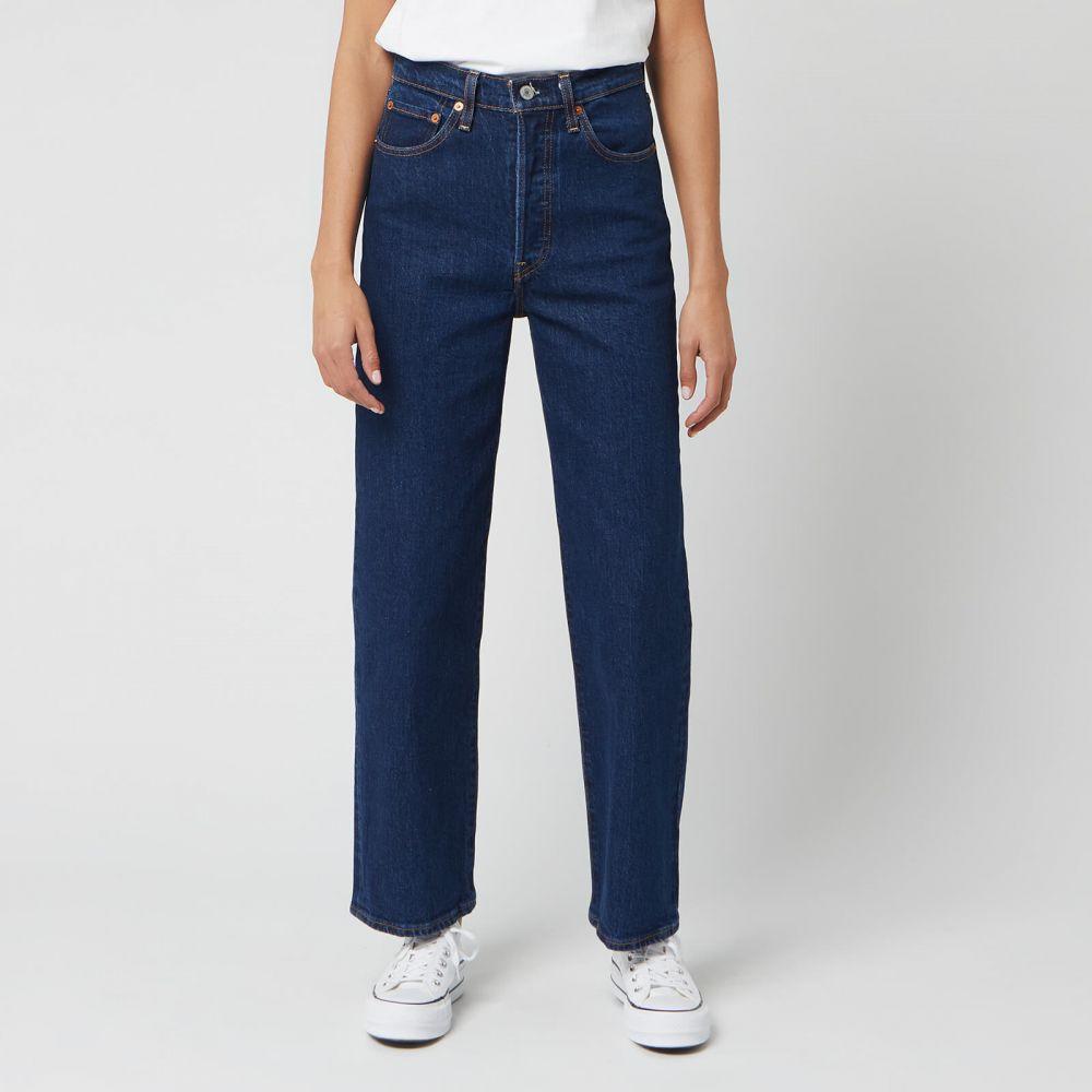 リーバイス Levi's レディース ジーンズ・デニム ボトムス・パンツ【Ribcage Straight Ankle Jeans - Lifes Work】Blue