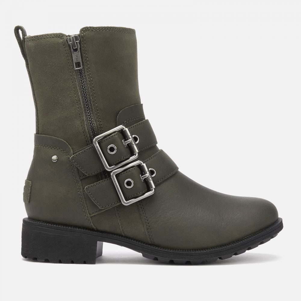 アグ UGG レディース ブーツ シューズ・靴【Wilde Buckle Biker Boots Boots - Slate】Slate