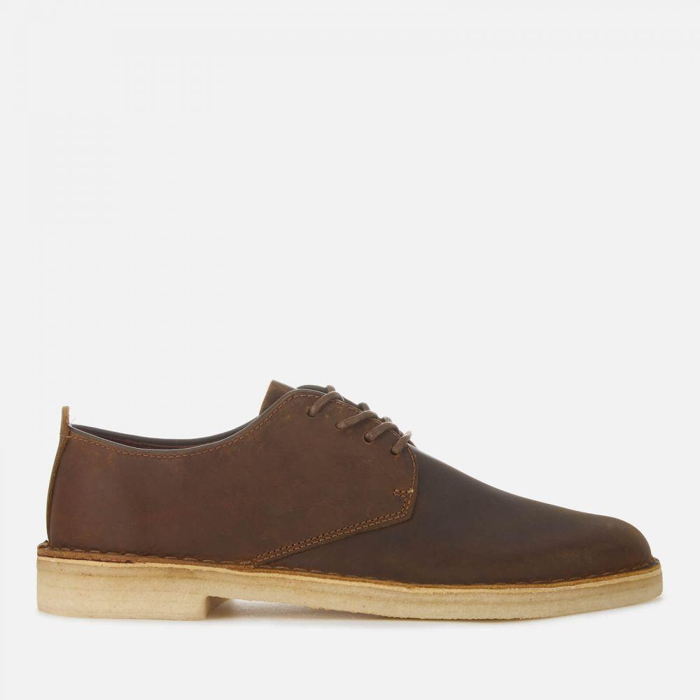 クラークス Clarks Originals メンズ 革靴・ビジネスシューズ ダービーシューズ シューズ・靴【Desert London Leather Derby Shoes - Beeswax】Brown