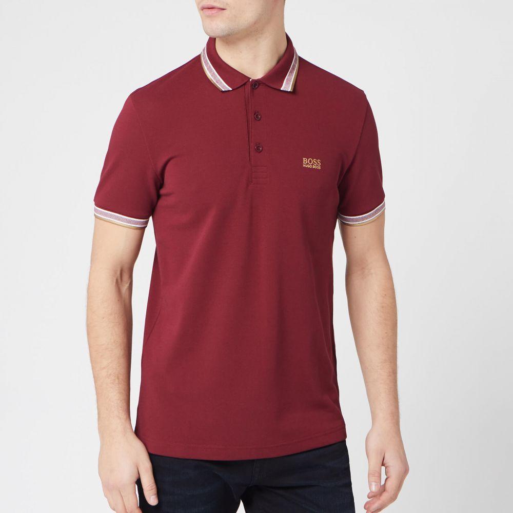 ヒューゴ ボス BOSS メンズ ポロシャツ トップス【Paddy Polo Shirt - Red】Red