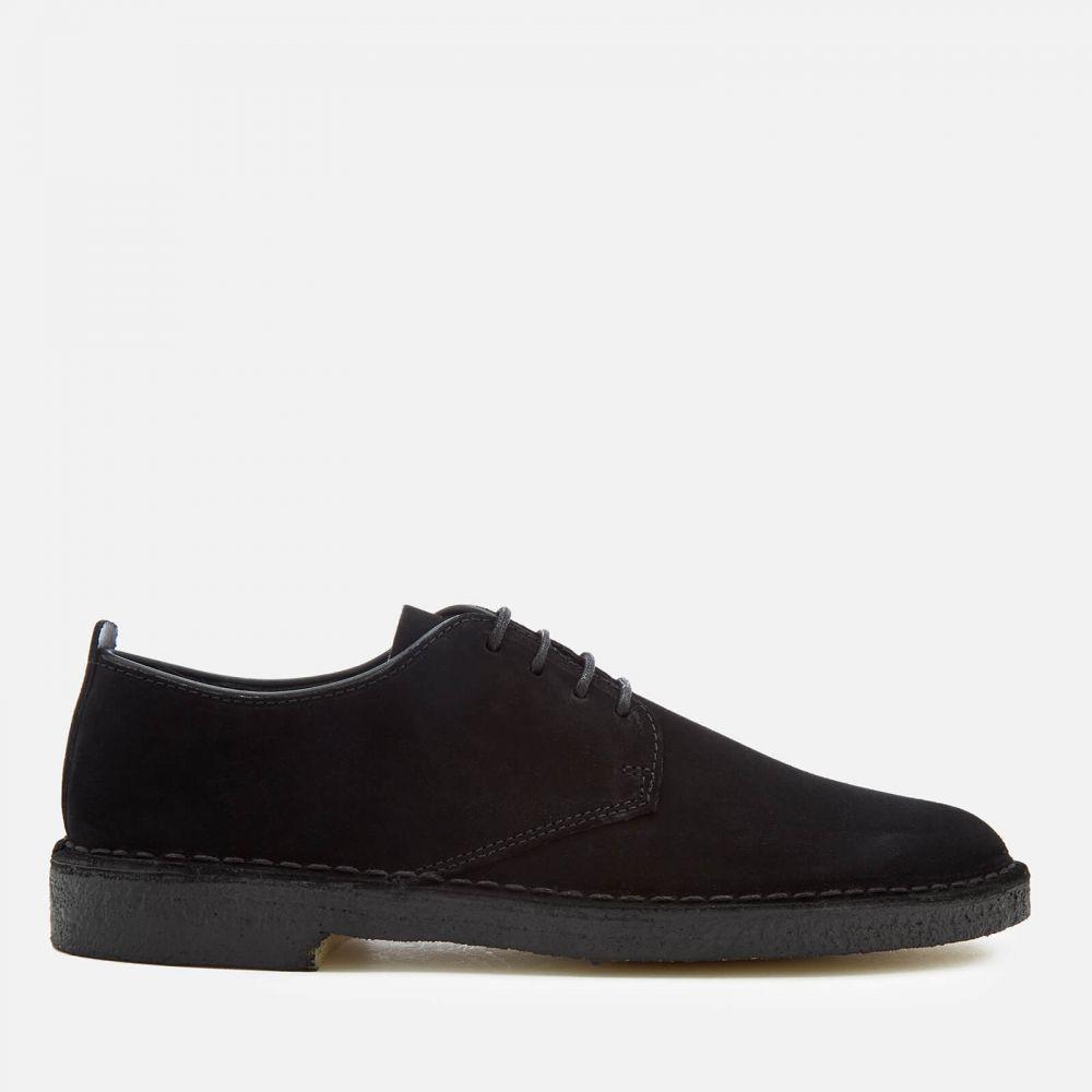 クラークス Clarks Originals メンズ 革靴・ビジネスシューズ ダービーシューズ シューズ・靴【Desert London Suede Derby Shoes - Black】Black