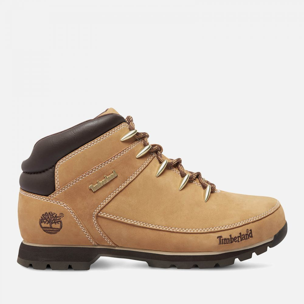 ティンバーランド Timberland メンズ ハイキング・登山 ブーツ シューズ・靴【Euro Sprint Leather Hiker Style Boots - Wheat】Tan