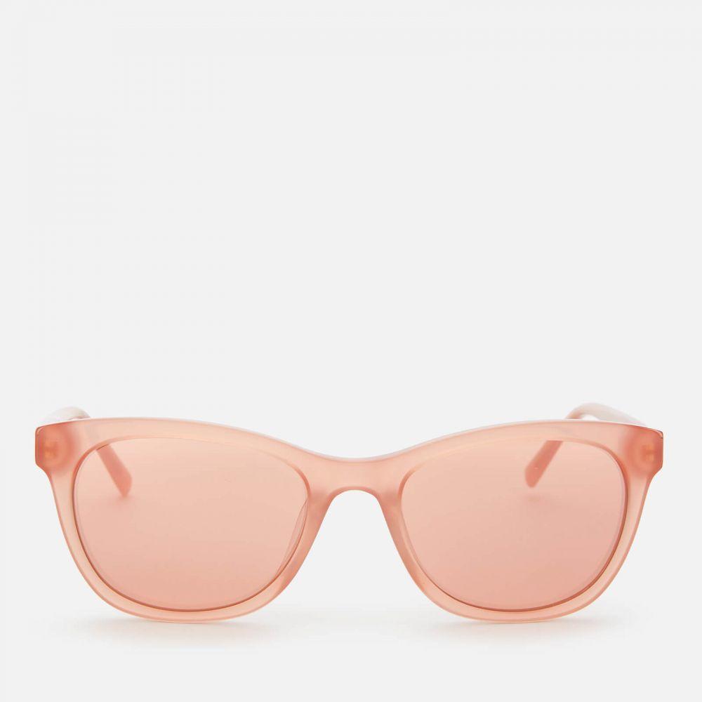 ダナ キャラン ニューヨーク DKNY レディース メガネ・サングラス 【Tea Cup Acetate Sunglasses - Milky Blush】Pink