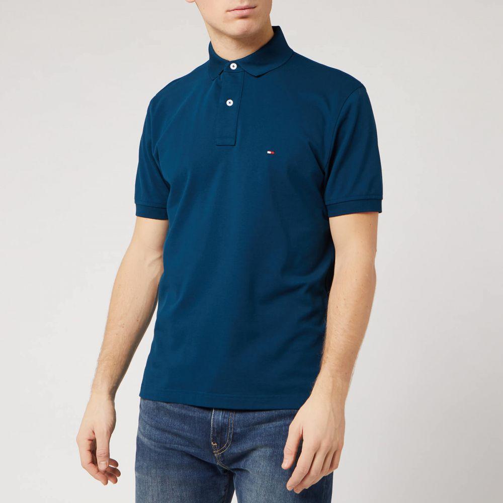 トミー ヒルフィガー Tommy Hilfiger メンズ ポロシャツ トップス【Regular Polo Shirt - Mariner Blue】Blue