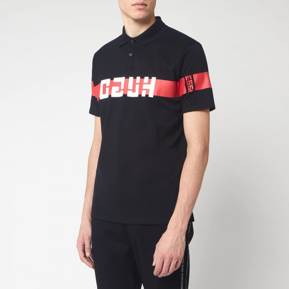 ヒューゴ ボス HUGO メンズ ポロシャツ トップス【Dosel Polo Shirt - Black】Black