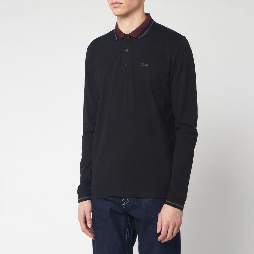 ヒューゴ ボス HUGO メンズ ポロシャツ トップス【Donol 201 Polo Shirt - Black】Black