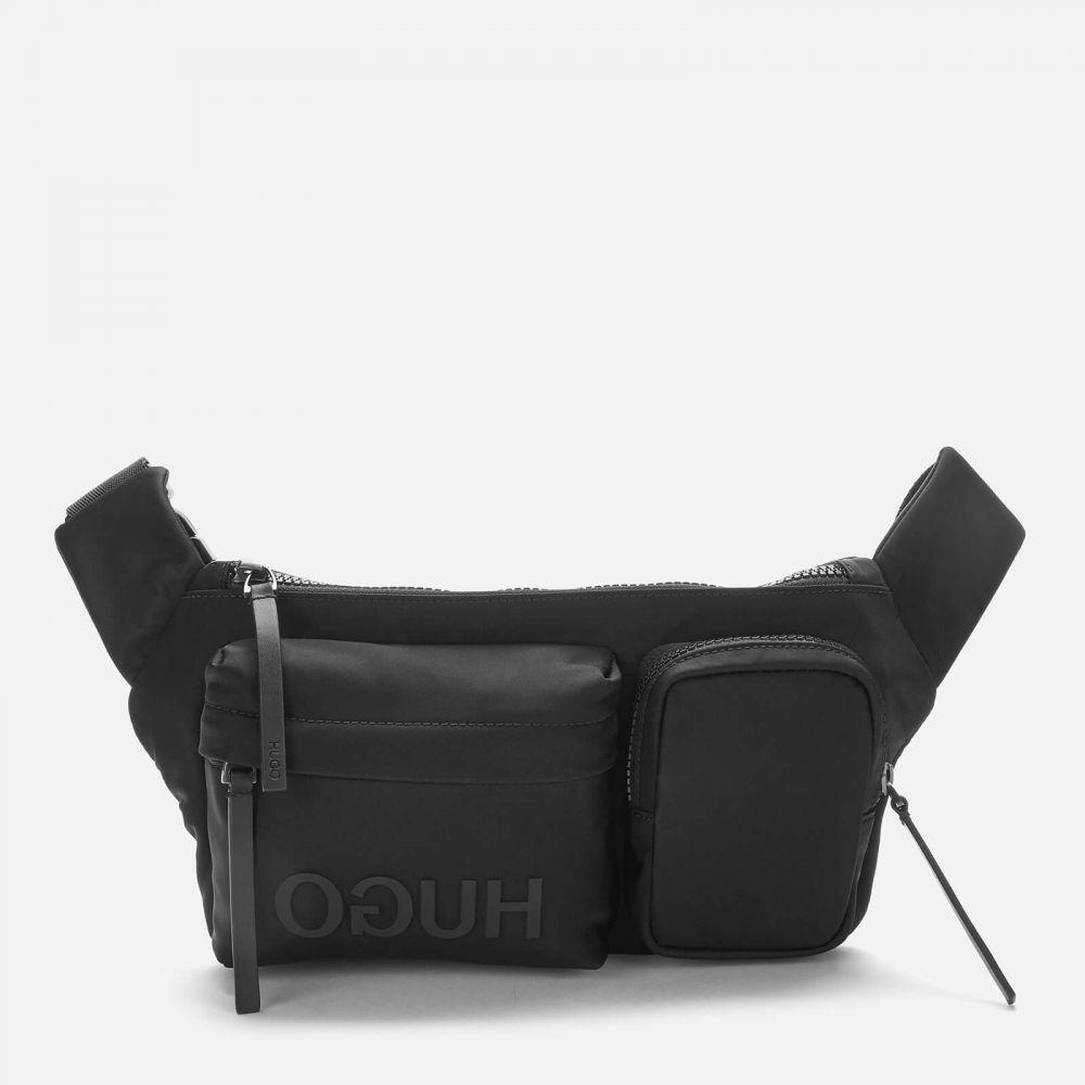 ヒューゴ ボス HUGO メンズ ボディバッグ・ウエストポーチ バッグ【Record Waist Bag - Black】Black