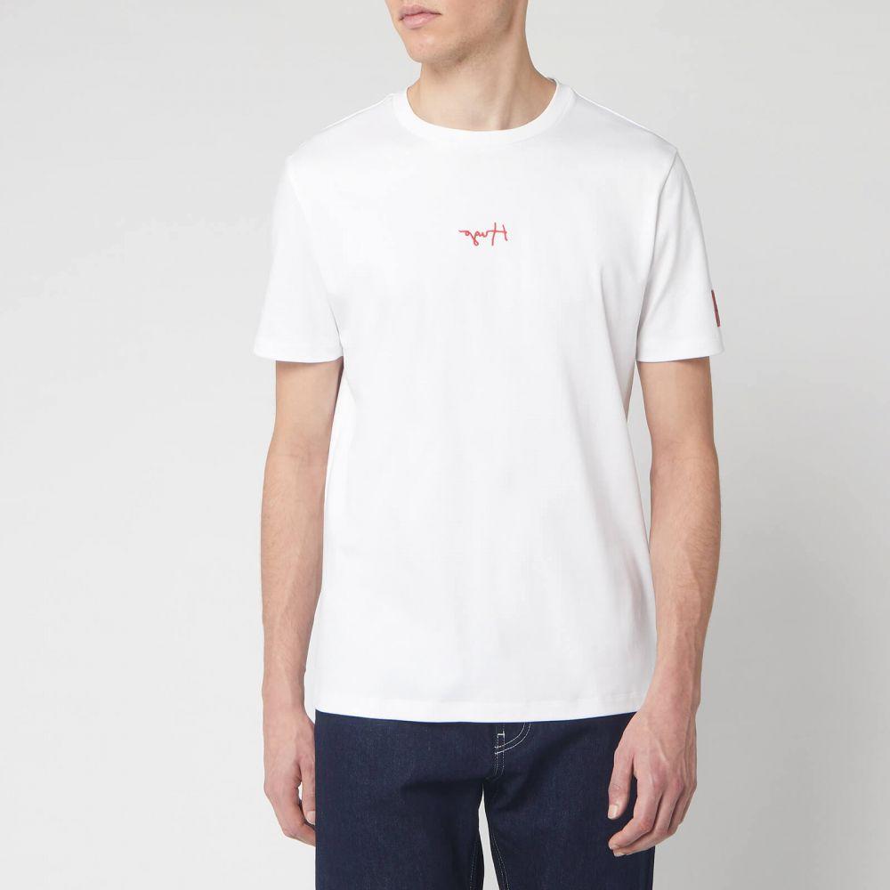ヒューゴ ボス HUGO メンズ Tシャツ トップス【Durned 201 T-Shirt - White】White