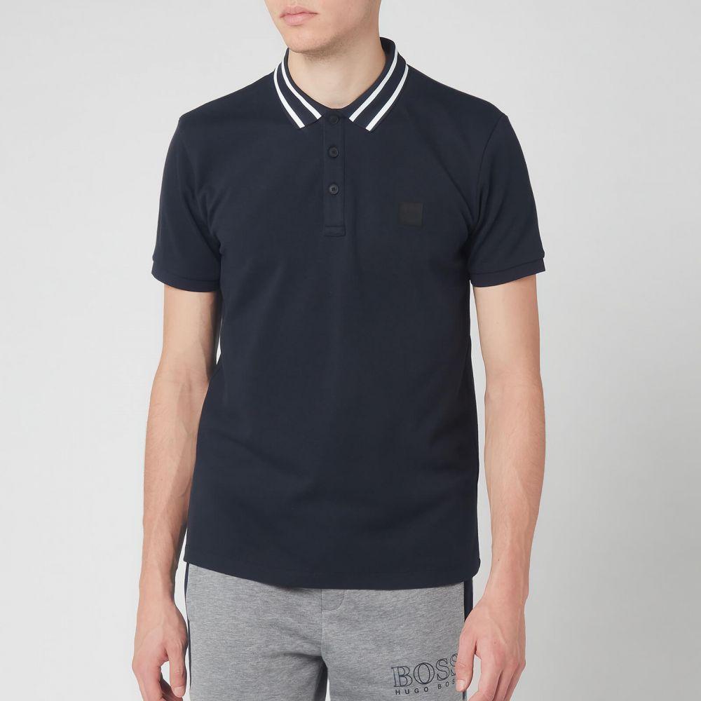 ヒューゴ ボス BOSS Hugo Boss メンズ ポロシャツ トップス【BOSS Premixt Polo Shirt - Navy】Navy